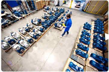 کارخانه پمپ پنتاکس ایتالیا