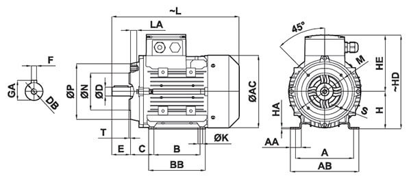 YILMAZ-MOTOR-DIM-B14-B34