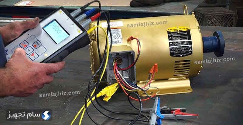 عیبیابی و تعمیر موتور الکتریکی