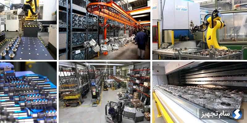 خط تولید گیربکسهای هیدرومک