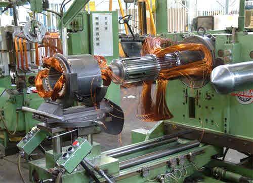دستگاه های خط تولید الکتروموتور موتوژن