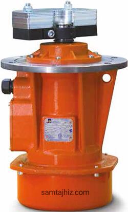موتور ویبره فلنج دار صنعتی