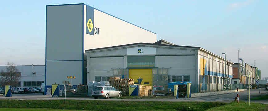 کارخانه و دفتر مرکزی OLI در مودنا ایتالیا
