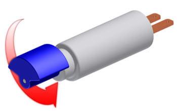 مکانیزم ساده موتور ویبره