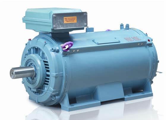 الکتروموتور آب خنک ABB