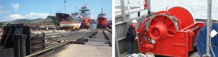کاربرد وینچ در صنایع دریایی و کشتی