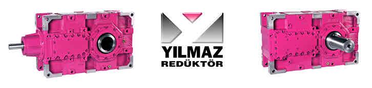 گیربکس صنعتی Yilmaz سری h و b